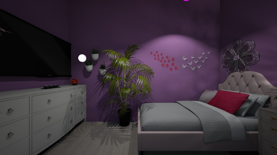 Gril Bedroom - by Diy the day