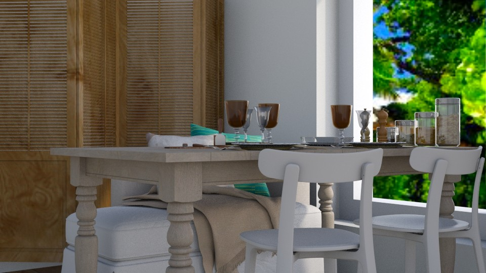 Tropical - Global - Dining room - by stephendesign