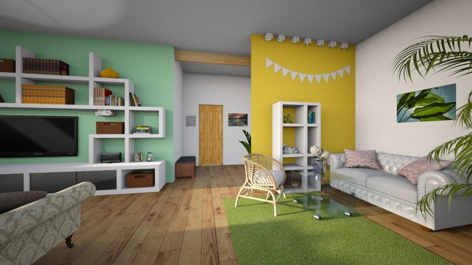 livingroom - Living room - by tervezoke