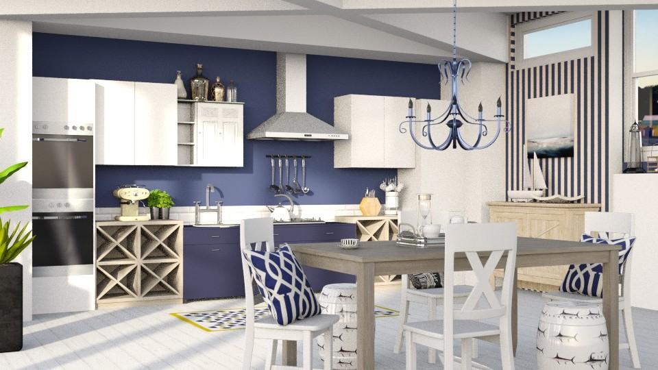 Coastal kitchen - Kitchen - by jagwas