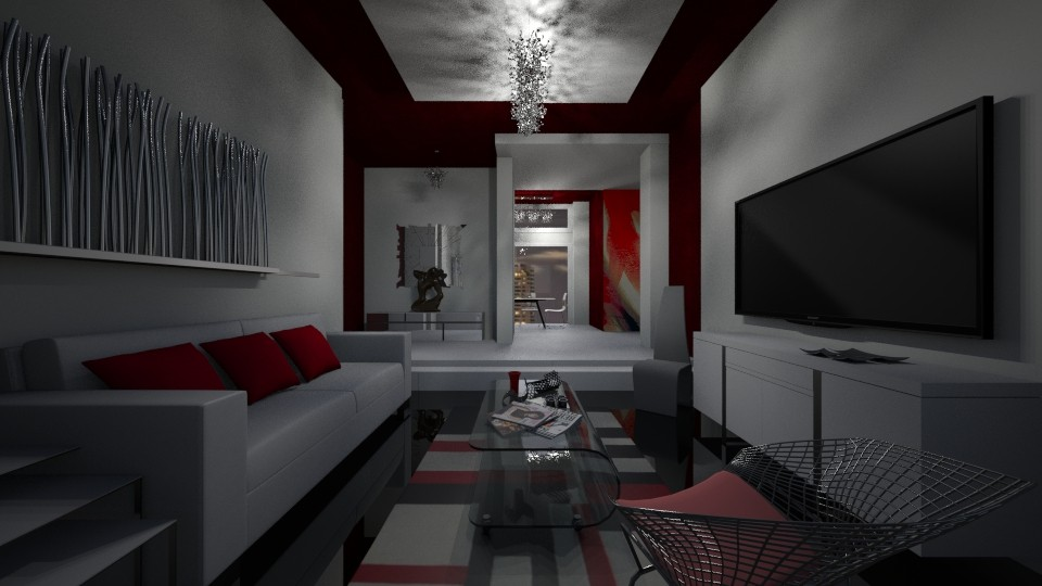 NewModernSpace4L - Living room - by Nard8A