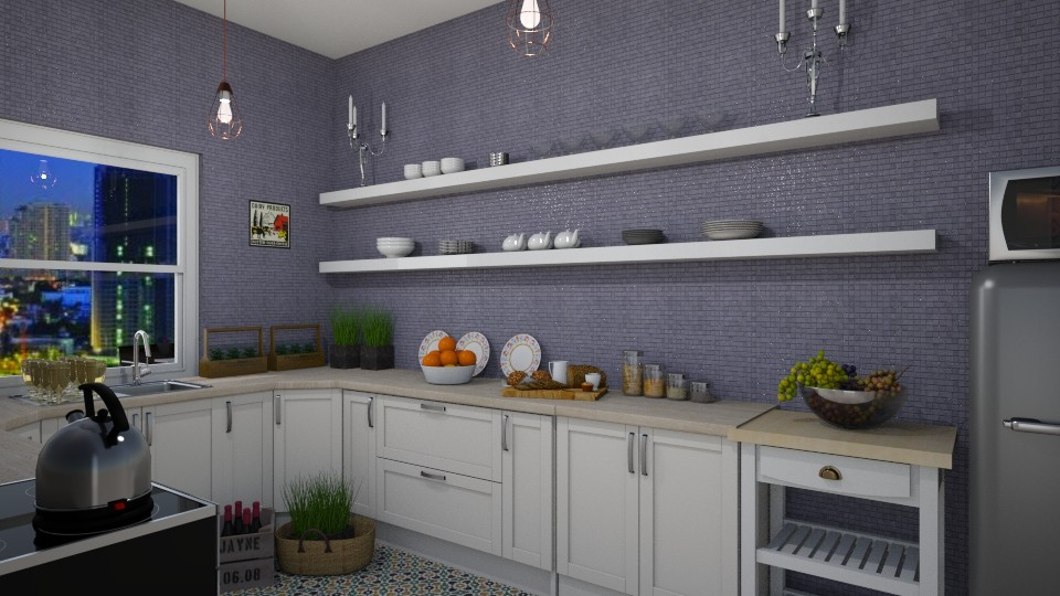 Kitchen - Minimal - Kitchen - by Dragana2212