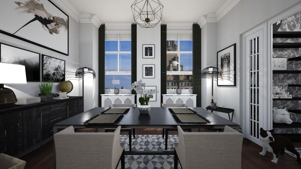 Clueless - Dining room - by SimonRoshana