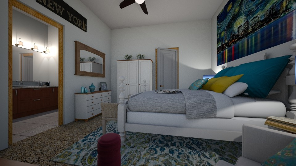 OKC Bedroom 4 - Bedroom - by Tzed Design