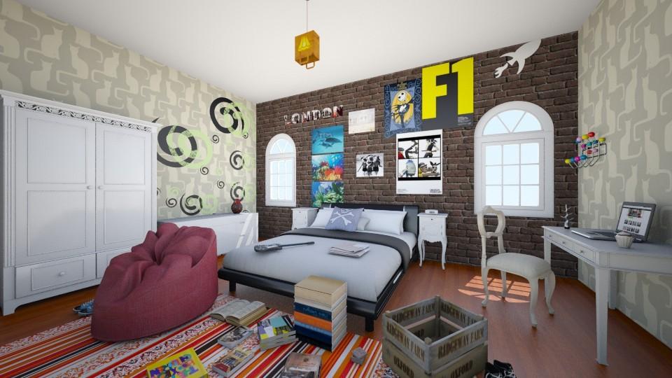 Sara s - Bedroom - by valenietube