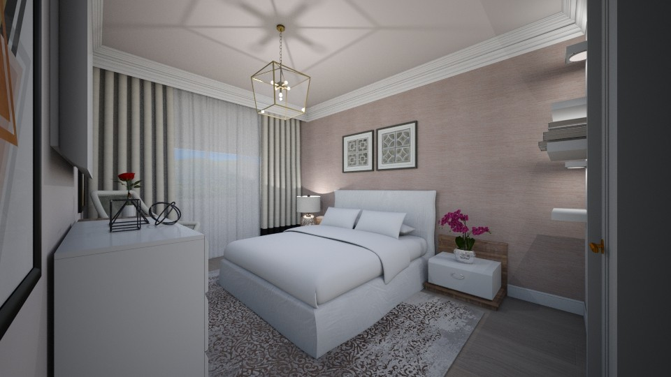 dormitor insta - Bedroom - by Bianca Interior Design