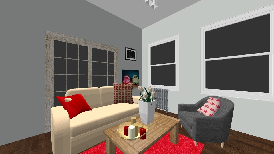 first time - Living room - by tjarmoza
