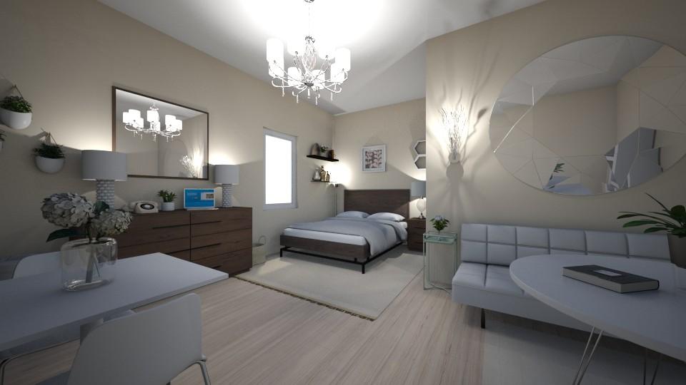 minimal bedroom - Minimal - Bedroom - by elladesign
