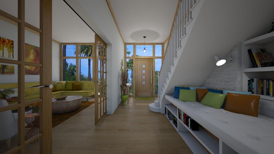 Hallway - by Lackew