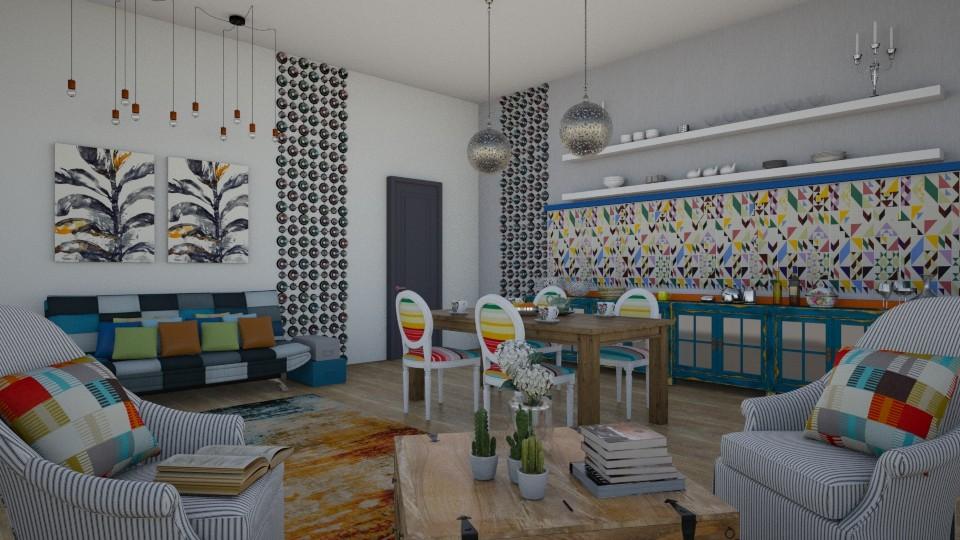90g - Living room - by Dorrit