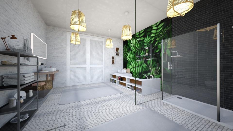 Bathroom penthouse - Bathroom - by Art3miys