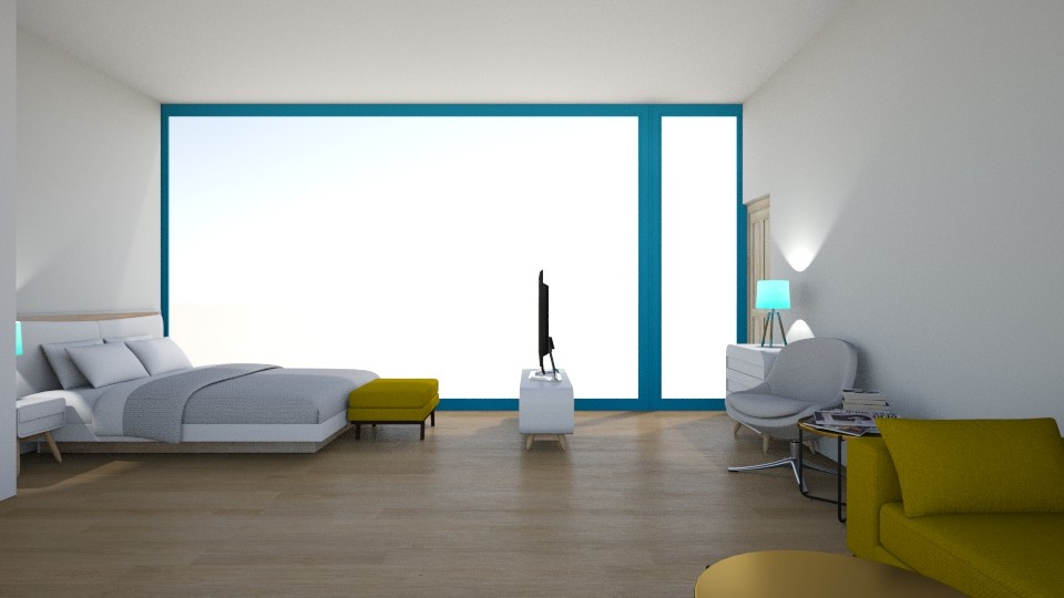 Maries Haus Schlafzimmer2 - Modern - Bedroom - by Marie Harrer