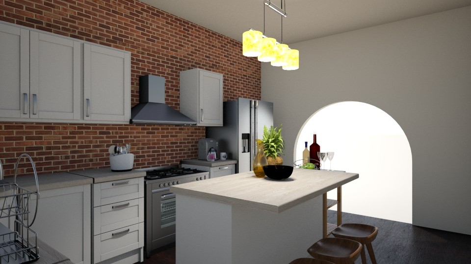 kitchen pt 2 - by darwms