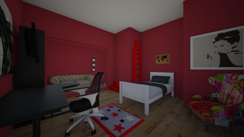 mala soba - Modern - Kids room - by sarapremuzic12