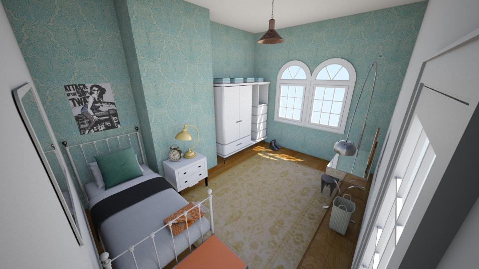 100 Bush Road - Bedroom - by rachelbbridge