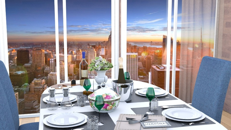 dinner - Dining room - by Inokentijroom