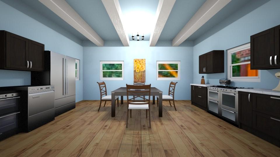 Sky kitchen - by KIWIFLO