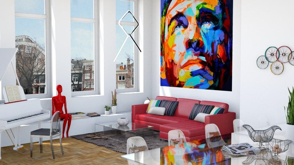 transperent - Living room - by maudberg01