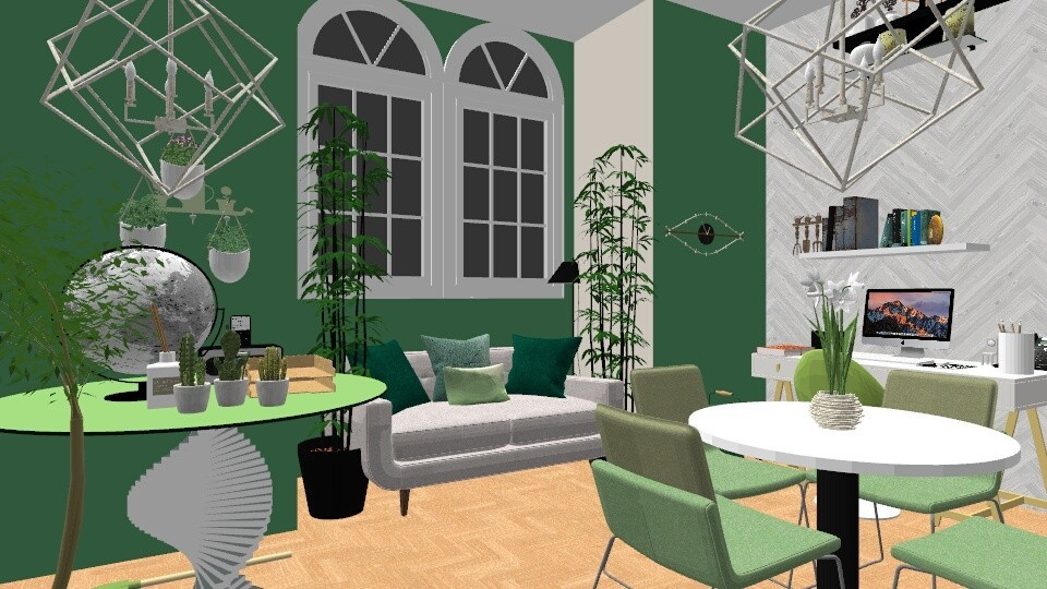 Urban Jungle Office - Office - by LexieB123