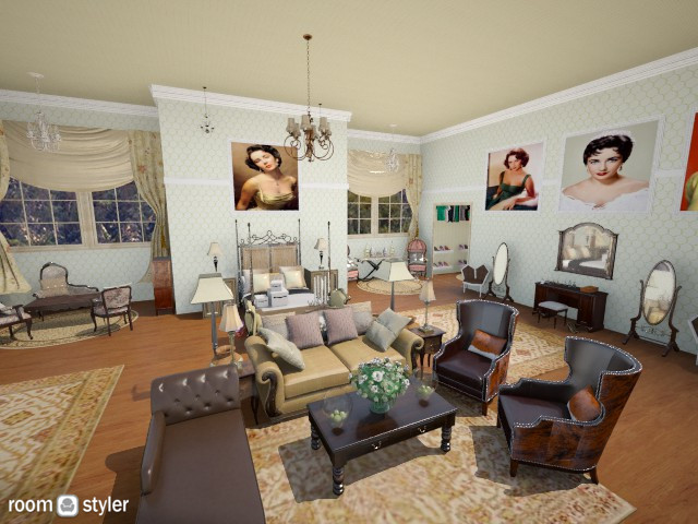 Elizabeth Taylor - Classic - Bedroom - by DiamondJ569
