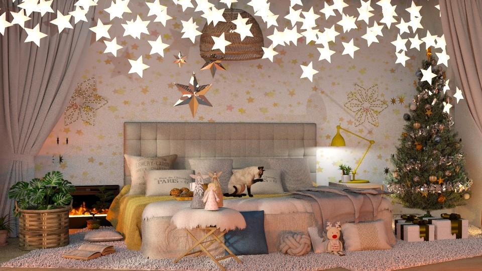 Christmas Stars - by jasmin_jasmin