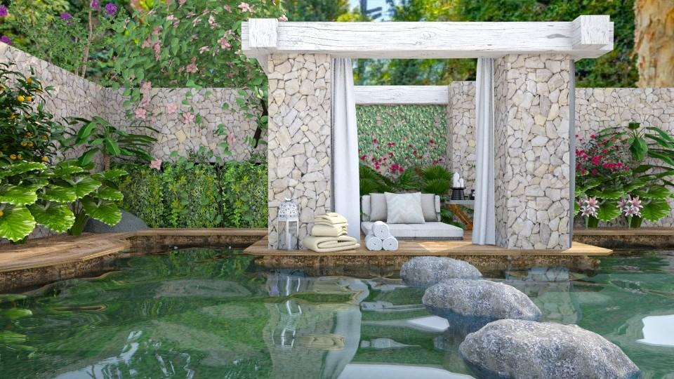 outdoor retreat - by minervinoi