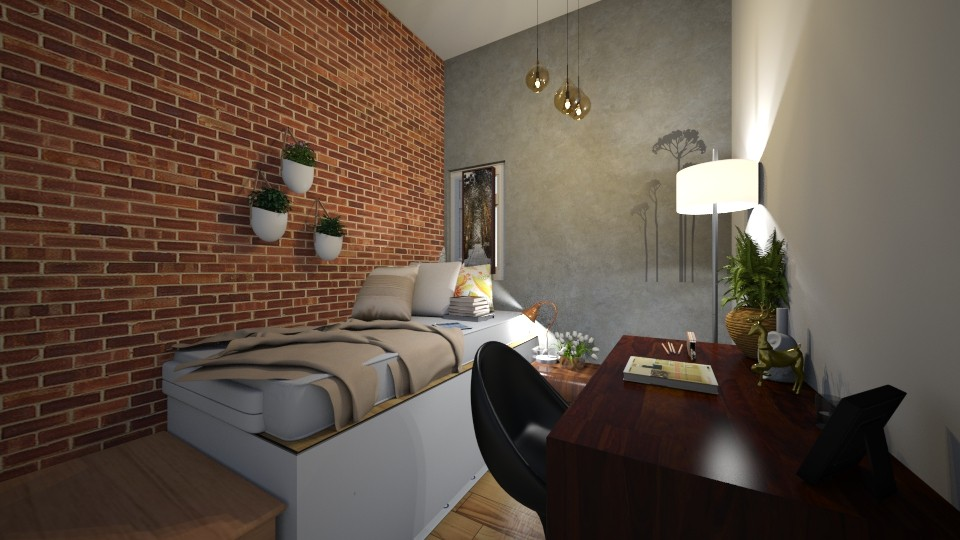Perfect apartment Bedroom - by A person from Earth