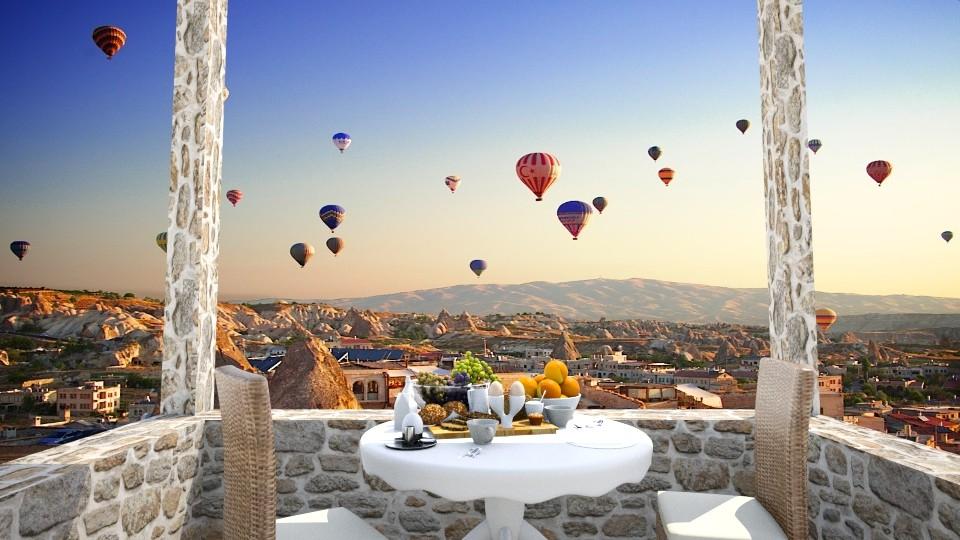 Breakfast on the Terrace - by molliesmith475