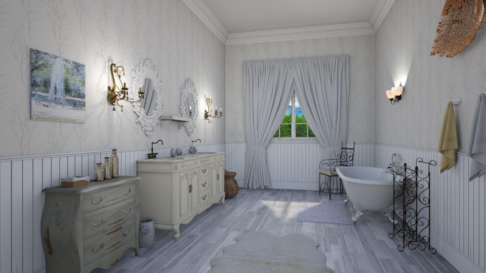 Shabby Chic Bathroom - Classic - Bathroom - by petersohn