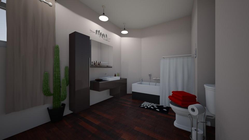 bathroom - by udanielle12