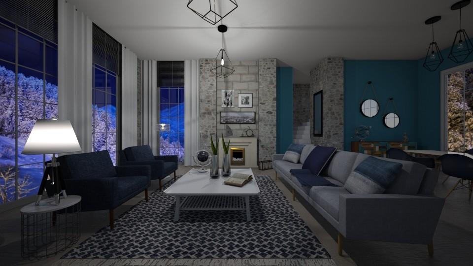 winter - Living room - by nuray kalkan