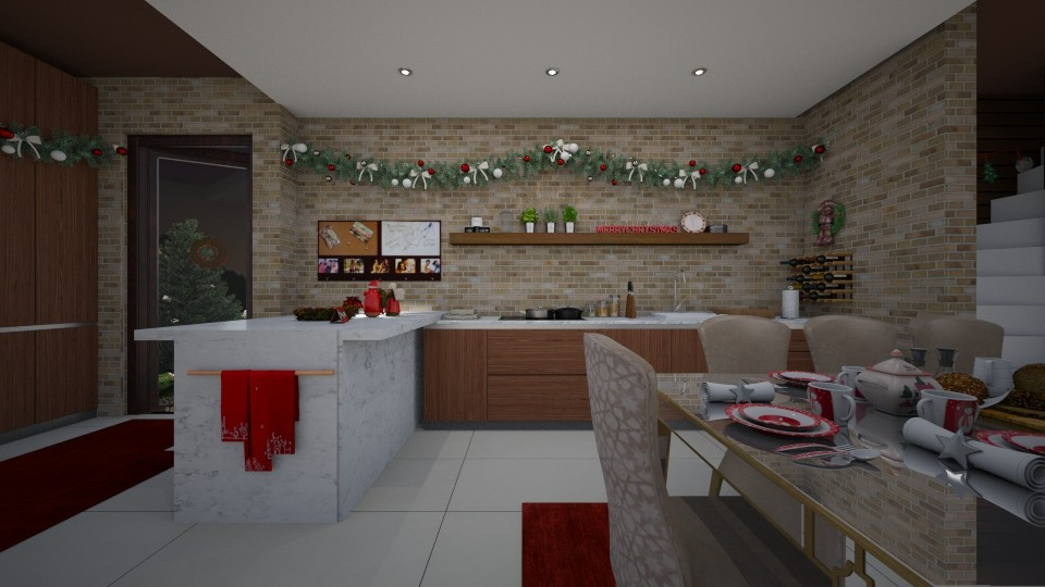 christmas dinner - Kitchen - by i l o n a
