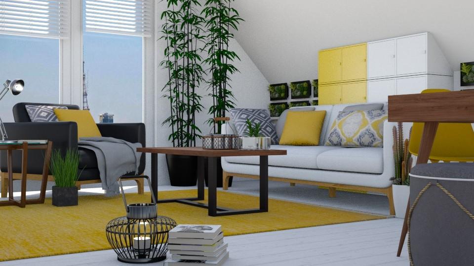 Plants - Living room - by juliavalerie