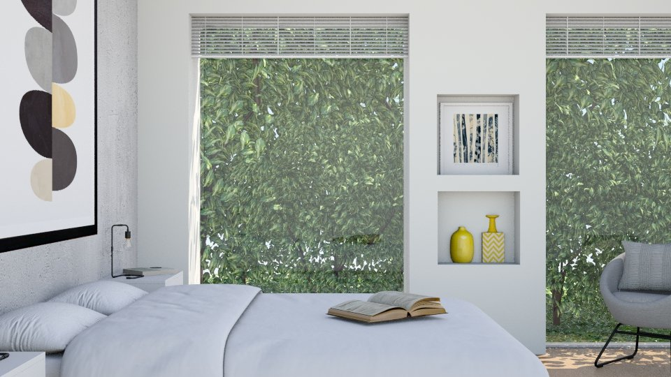 Fresh - Modern - Bedroom - by KRdesign