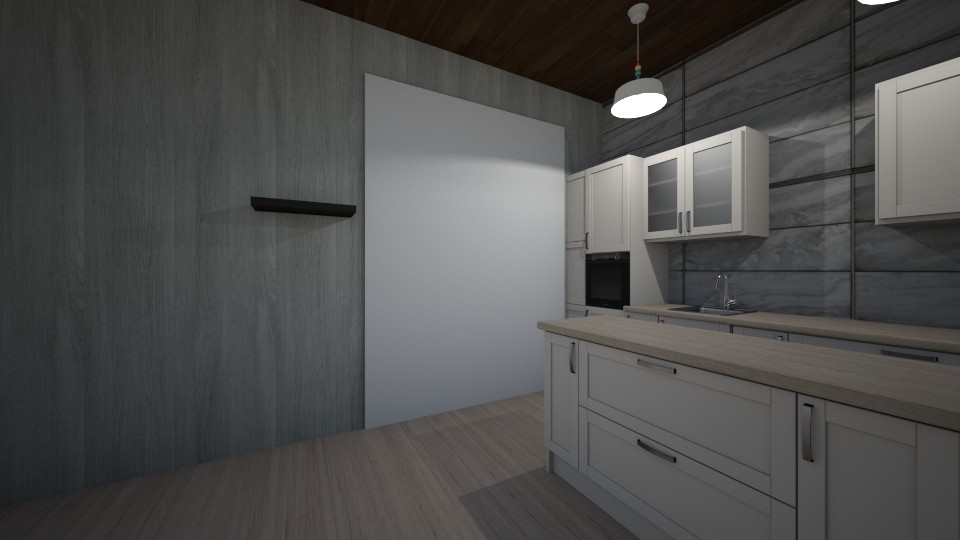 Small Apartment  - by Fannia_