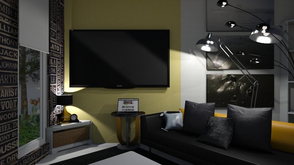 Mod Livin - Modern - Living room - by XiraFizade