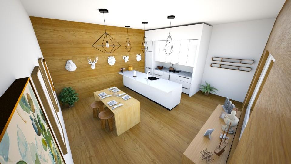 Wood kitchen - Modern - Kitchen - by AnaCatarina