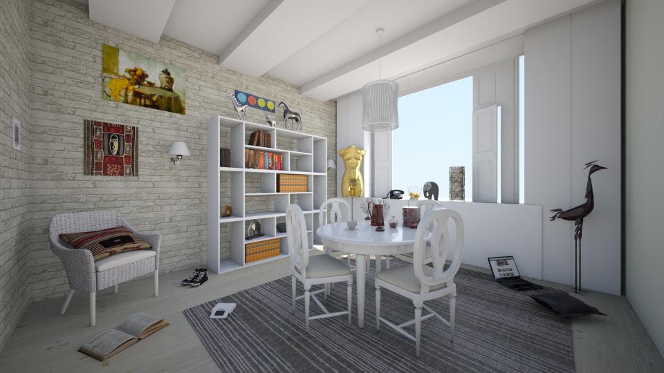 Dining room - Dining room - by Polya_Nikols