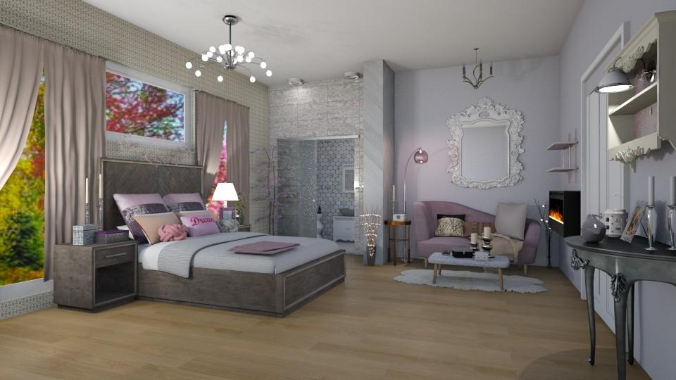 Lilacs - Bedroom - by jdenae3