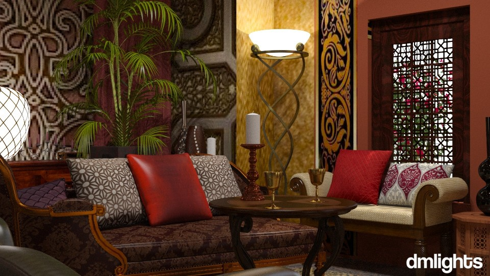 Middle East - Living room - by DMLights-user-1468788