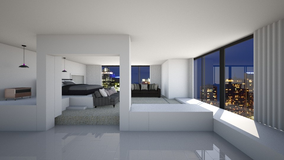 Brisbane City - Living room - by Designer V