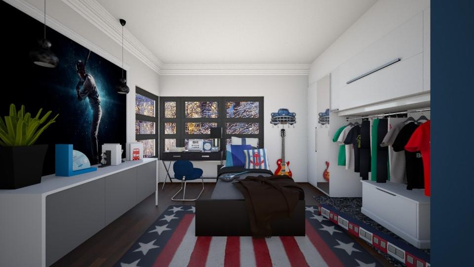 Boys Room l Ares - Bedroom - by Jhiinyat