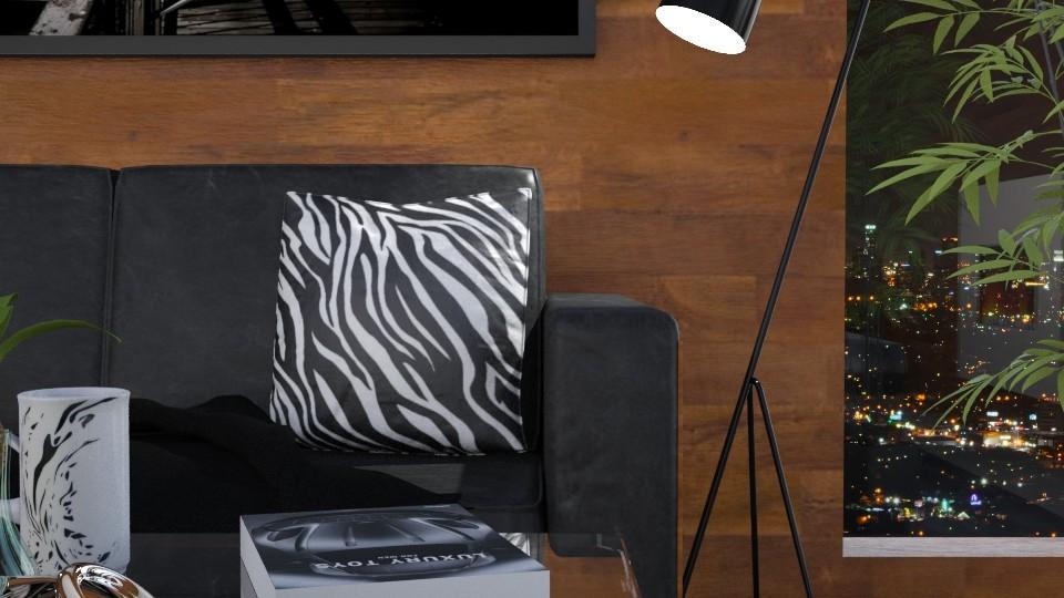Dark Side - Living room - by JayPH