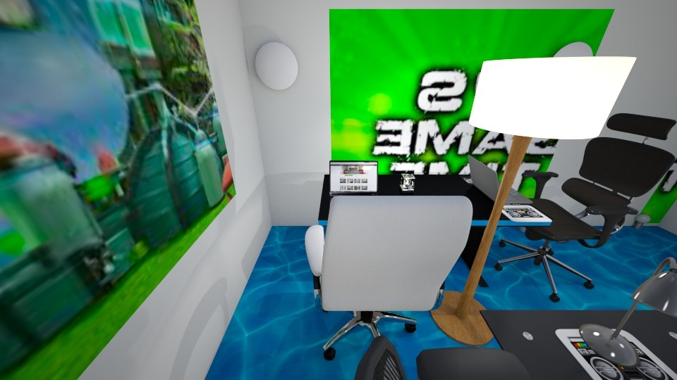 Gaming roblox room 1 - Modern - by robloxruler