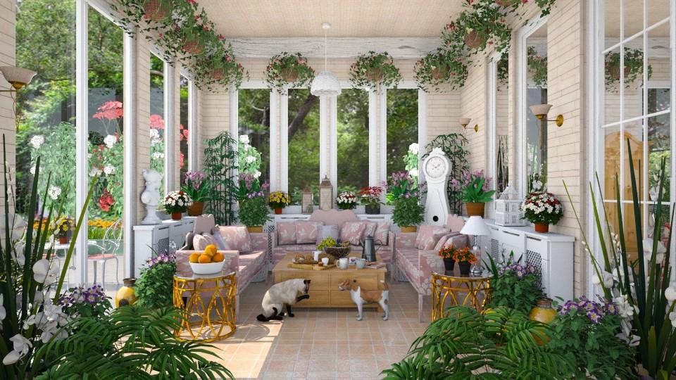 Victorian sun room garden by lydiaenderlebell for Victorian garden room