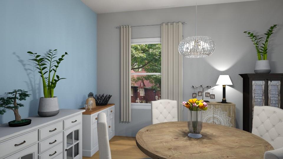 greenery - Modern - Dining room - by sonakshirawat175
