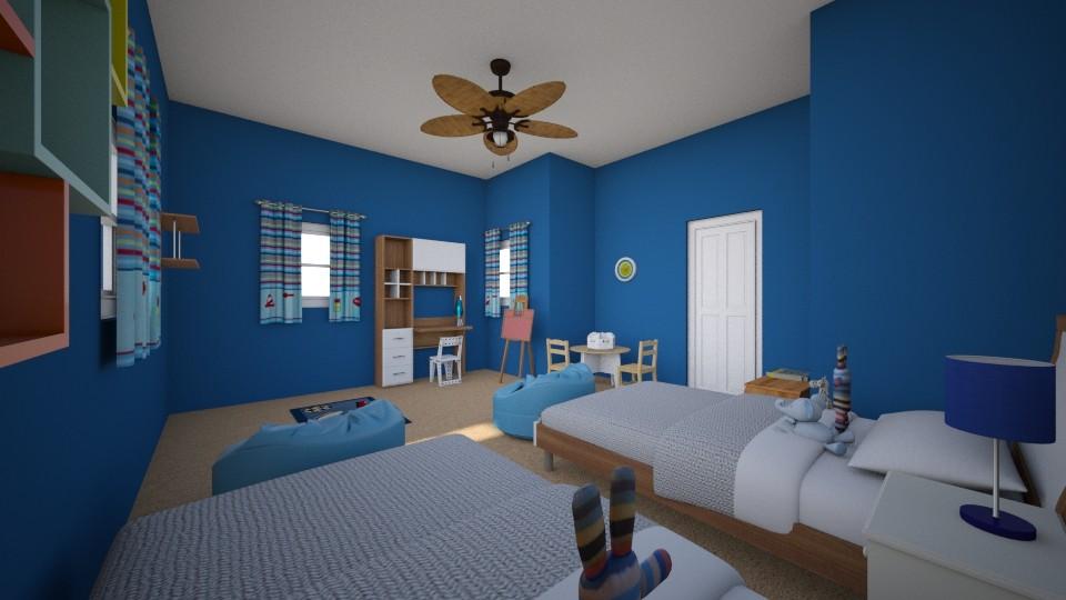 Boys Room - Modern - Bedroom - by ACM16