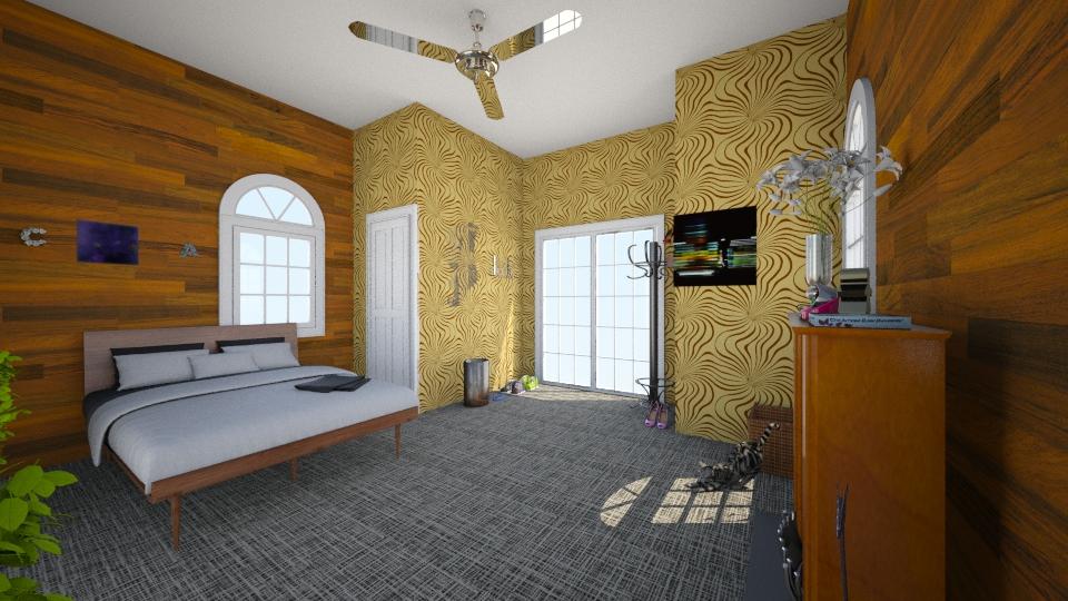 The teenager room - Classic - Bedroom - by Dasha Chukalovskaya