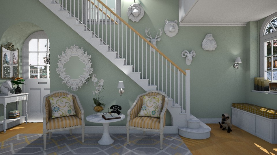 Entrance hall - Modern - Living room - by Brubs Schmitt
