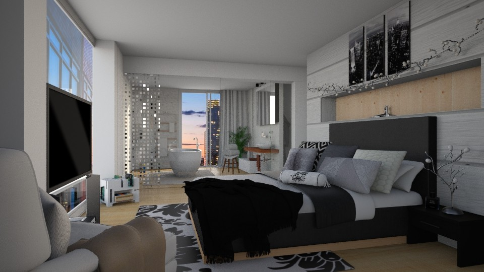 Suite - Modern - Bedroom - by carina68